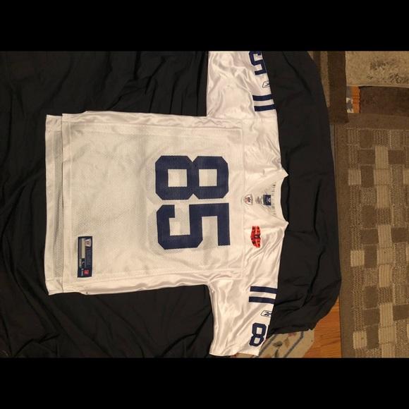Reebok on field Pierre Garcon Colts jersey clean